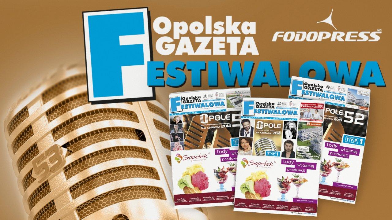 Opolska Gazeta Festiwalowa Wydawnictwo okolicznościowe