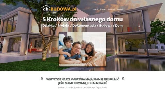 www.dh-budowa.pl Firmowa strona www