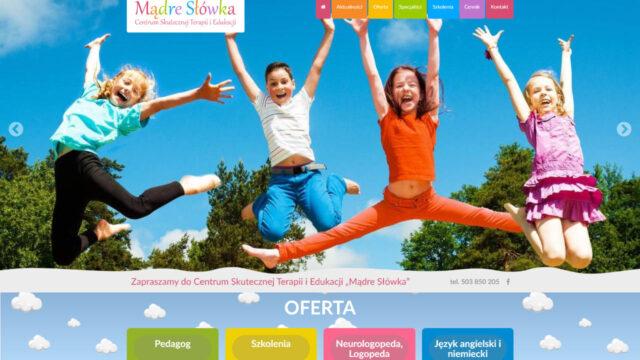 www.MadreSlowka.pl Firmowa strona www