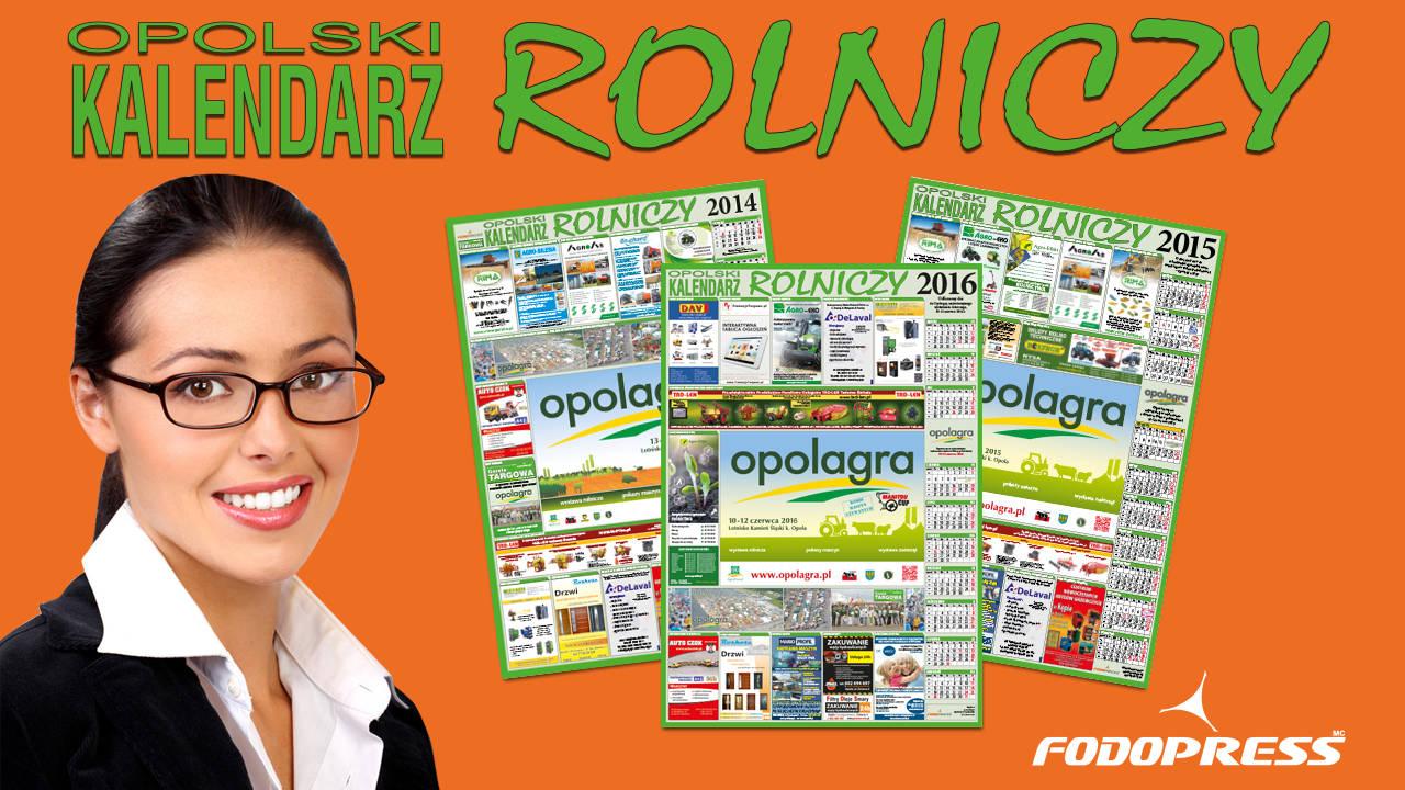 Opolski Kalendarz Rolniczy Kalendarze branżowe