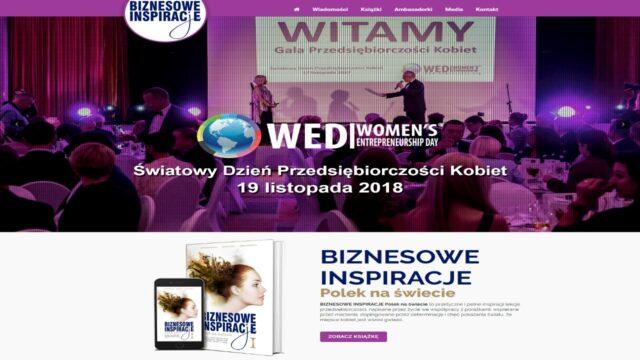 www.BiznesoweInspiracje.org Strona www organizacji pozarządowej
