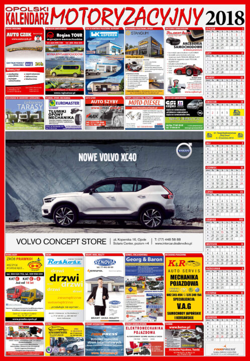 Opolski Kalendarz Motoryzacyjny