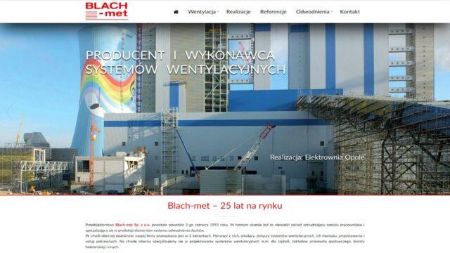 www.blachmet.com.pl Firmowa strona www